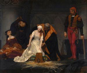 718px-PAUL_DELAROCHE_-_Ejecución_de_Lady_Jane_Grey_(National_Gallery_de_Londres,_1834)